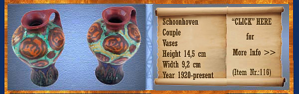 Nr.: 116, On offer decorative pottery of Schoonhoven